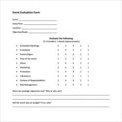 event evaluation sample 9 documents in pdf word excel
