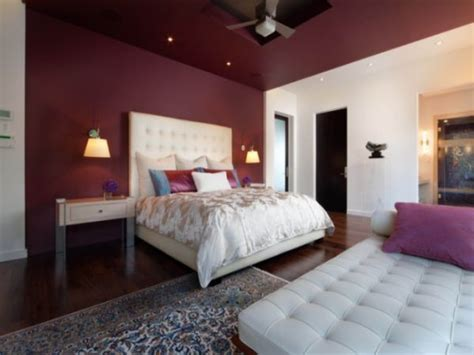 Maroon Bedroom Ideas | bedroom decorating paint colors burgundy and grey bedroom