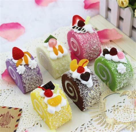 Abest Cotton Pink Slice Cake Squishy food squishies food