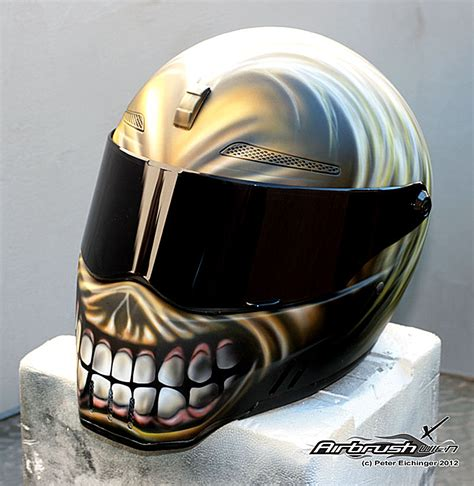 iron maiden airbrush helmet s 248 gning bike