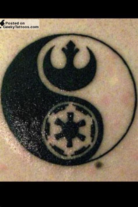infinity yin yang tattoo star wars yin yang tattoo what kate pinterest
