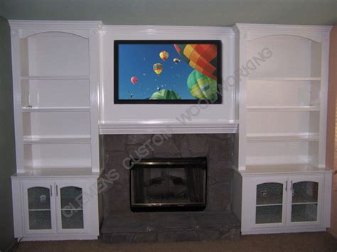 wall units with fireplace and tv memes