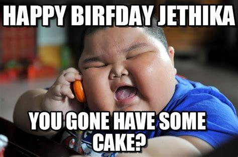 Fat Kid Memes - happy birfday jethika asian fat kid meme on memegen