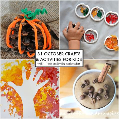 october crafts 31 fall activities for free october