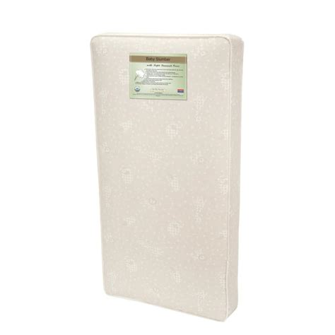 Length Of Crib Mattress L A Baby Slumber Size Childcare Crib Mattress Mt 4330 V