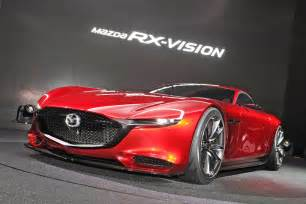 mazda gets our rotaries spinning with rx vision concept