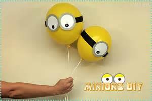globos de minions para regalar manualidades para cumplea 241 os