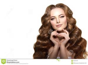 hair model long hair waves curls updo hairstyle hair salon fashion