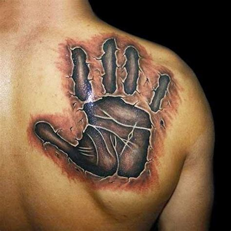 3d tattoo on the back 3d tattoos and designs