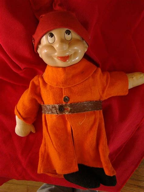 composition dopey doll vintage dopey snow white doll madame