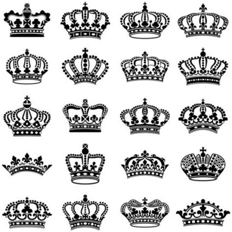 king crown brushes for photoshop 187 designtube creative vector crown creative silhouettes set etiquetas para