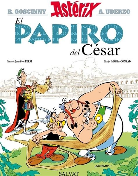 libro asterix y la traviata as 237 es el nuevo 225 lbum de ast 233 rix que se titula 171 el papiro del c 233 sar 187