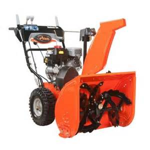 ariens deluxe 24 in two stage electric start gas snow