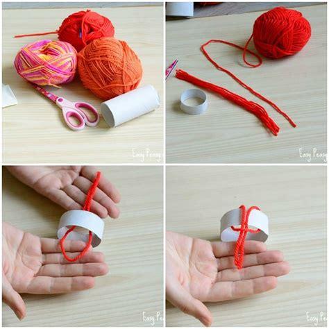 diy ornaments yarn mini yarn hats ornaments diy ornaments easy peasy and