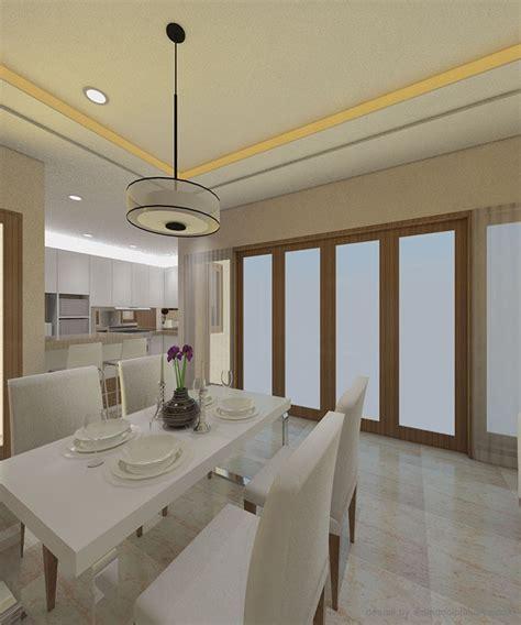 tata ruang rumah makan sederhana desain interior minimalis dengan warna pastel rancangan
