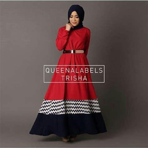 Maxy Kinanti longdress muslim murah baju setelan dress muslim wanita modern murah