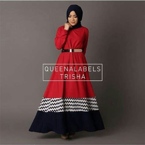 Levi Maxy Set Pakaian Wanita Muslim Dress Gamis longdress muslim murah baju setelan dress muslim