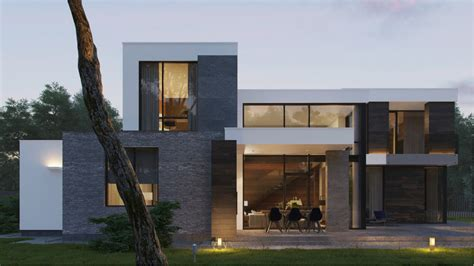 modern hous modern home exteriors with stunning outdoor spaces