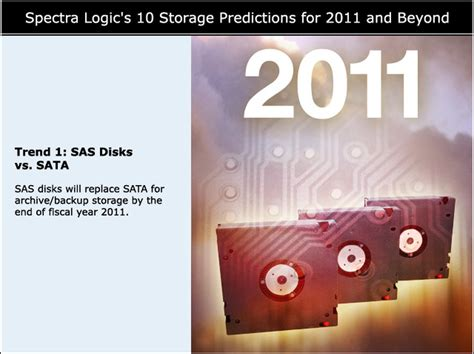 10 Predictions For 2011 by 10 Storage Predictions For 2011 And Beyond Data Storage