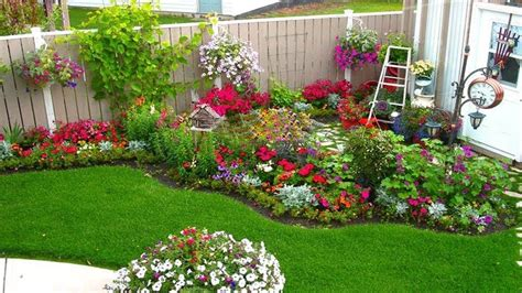 outdoor flower garden ideas garden landscap outside flower