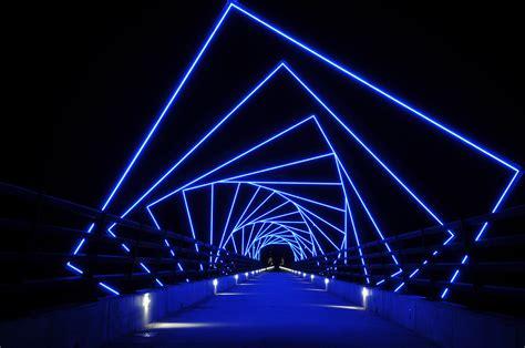 high trestle bridge ilight technologies
