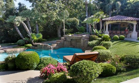 garden ideas for sloping backyards landscaping ideas for sloped backyard amazing with image