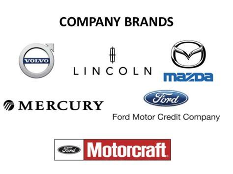 Ford Motor Company Brands ford motor strategic management