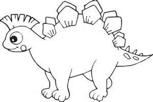 cute cartoon dinosaur coloring pages free coloring