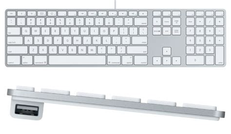 Apple Keyboard Usb how does the quot ultra thin quot keyboard provided with the aluminum imac models compare to a more