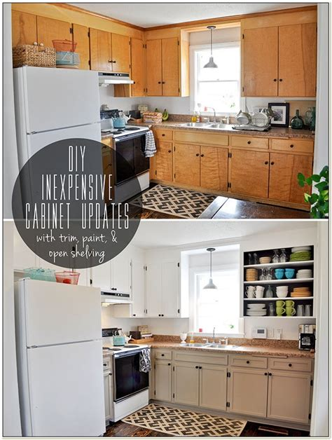 kitchen cabinets inexpensive 19 inexpensive ways to fix up your kitchen photos huffpost