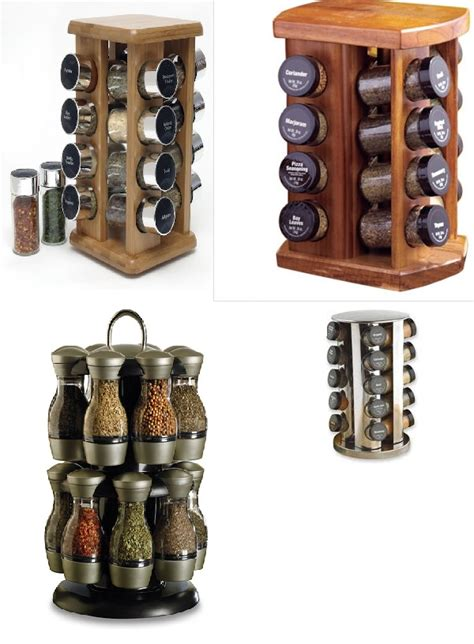 24 designs patterns for your new spice rack