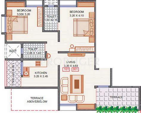 2bhk plan for 500 sq ft 1000 sq ft 2 bhk 2t apartment for sale in arun sheth anika