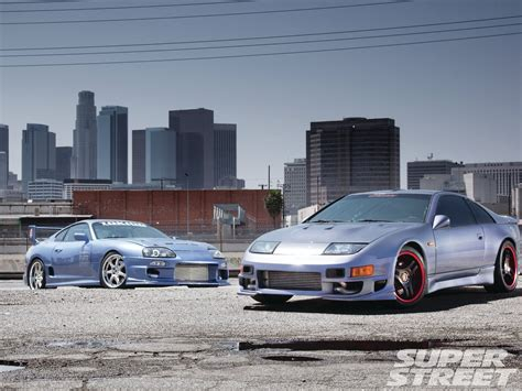 Toyota Supra Remake 1992 Nissan 300zx And 1995 Toyota Supra Look At Us Now