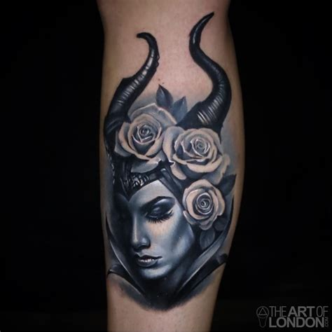 maleficent tattoo maleficent by reese