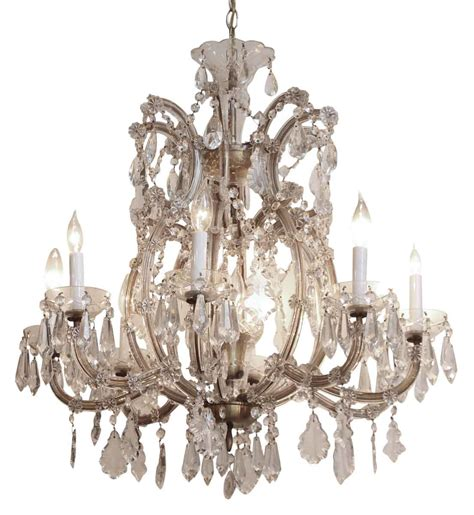 Bohemian Glass Chandelier Therese Eight Arm Bohemian Chandelier Olde Things