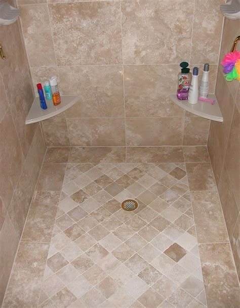 bathroom travertine tile design ideas de 25 bedste id 233 er inden for travertine shower p 229