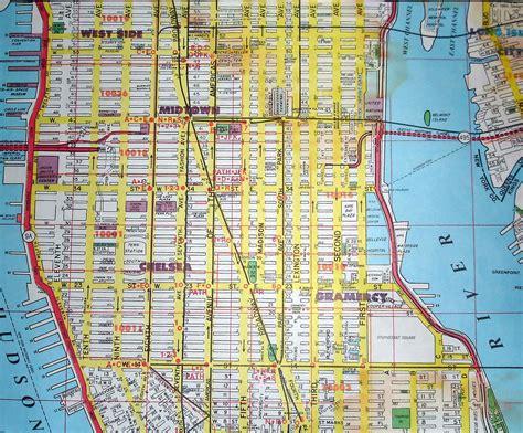 map of new york city manhattan new york map my