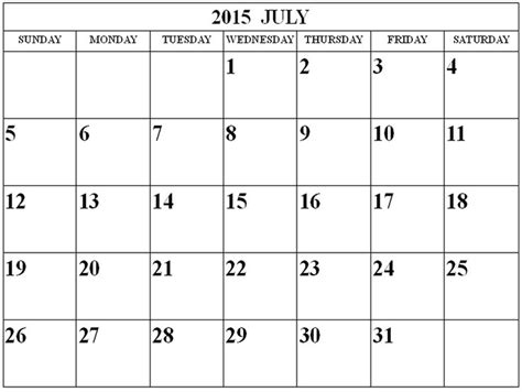 july calendar exclusive collection july