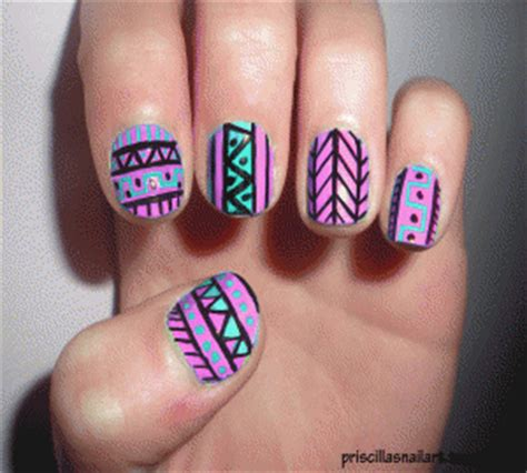 nail art tutorial gif priscillasnailart gifs find share on giphy