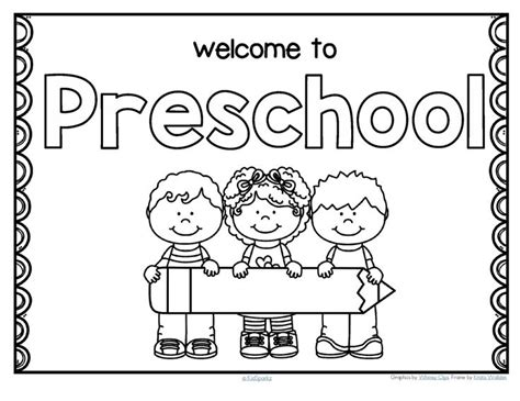 preschool coloring pages first day of school cartoon backpack back to school coloring pages welcome