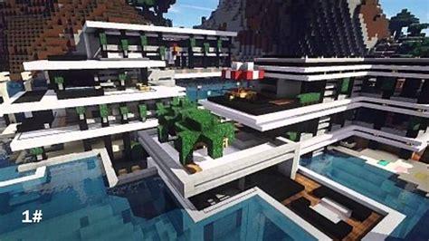 Plus Maison by Top 10 Des Plus Maison Moderne Minecraft