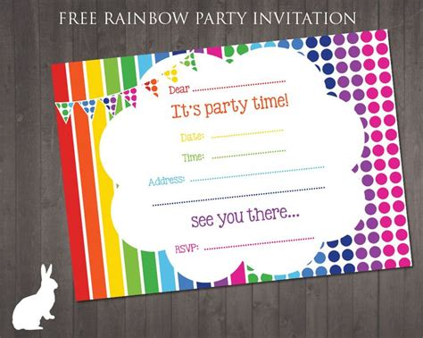printable children s party invitations free 170 best images about free printable birthday party