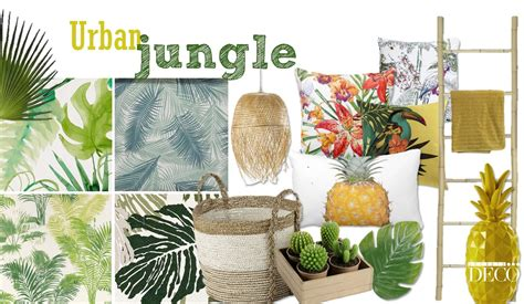 Deco Jungle Chic by Jungle La D 233 Coration 224 L Esprit Tropical