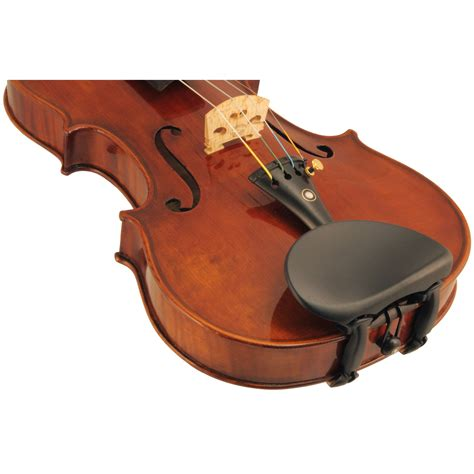 Wittner Chin Rest Center Mounted wittner hypoallergenic plastic violin chinrest shar sharmusic