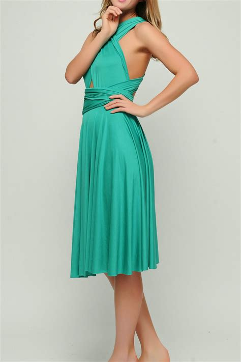 teal infinity dress teal green bridesmaid infinity dresses st 45 49