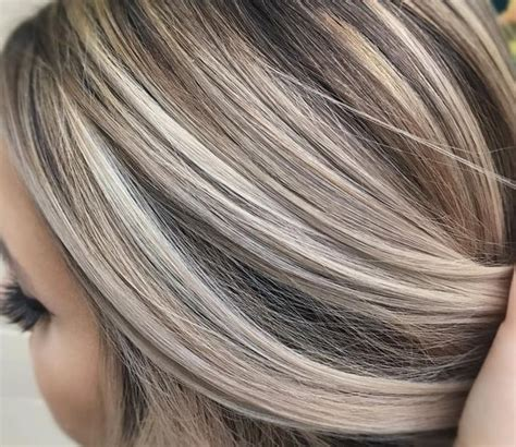 brown hair with platinum highlights 25 best ideas about medium ash blonde on pinterest dark