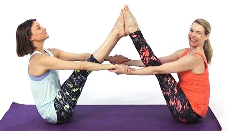 Cold Recipes by 10 Yoga Poses To Do With A Partner Health