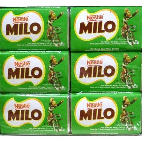 Milo Energy Bar Pack milo chocolate bar size 5 g pack24 products thailand milo