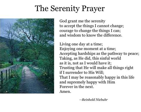 serenity prayer printable version free complete serenity prayer share hair styles pinterest
