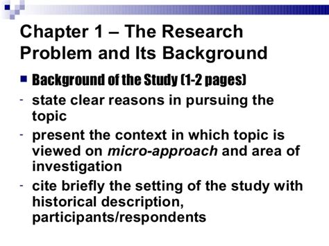 How To Make Background Of The Study In Research Paper - mpa res 2 how to write your blown research